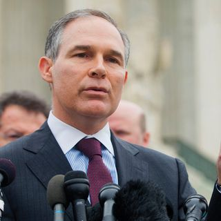 EPA's Scott Pruitt Defends Paris Accord Withdrawal
