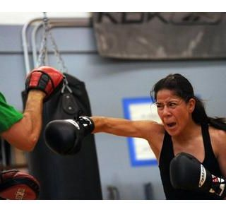 Amateur boxer Sulem Urbina