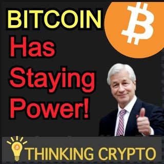 JP Morgan Says BITCOIN & CRYPTO Have Staying Power! - Gemini Hires Former Goldman Sachs Exec