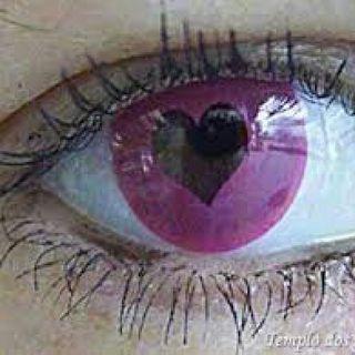 Olhos apaixonados