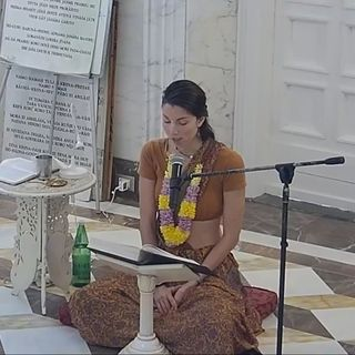 Lettura dalla Srila Prabhupada Lilamrita di Gopi Sundari Devi Dasi (2 luglio 2019)