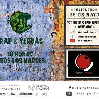 """""""Studios Infante"""" Rap & Yerbas Prog 19"""