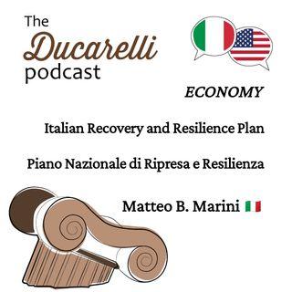 Italian Plan for Recovery and Resilience Piano Nazionale di Ripresa e Resilienza Matteo Marini AAA