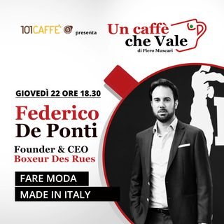Federico De Ponti: Fare moda Made in Italy