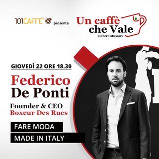 Federico De Ponti: Fare moda Made in Italy