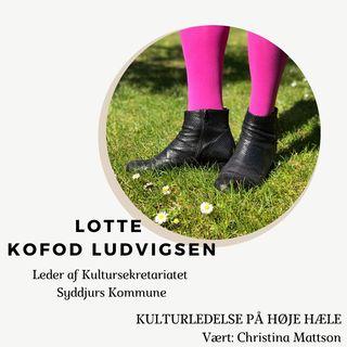 4. Lotte Kofod Ludvigsen, Leder af Kultursekretariatet i Syddjurs Kommune