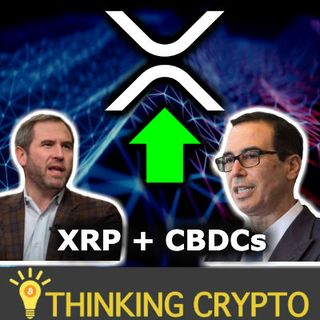 XRP WILL EXPLODE WITH US REGULATORY CLARITY - Ripple Brad Garlinghouse & Steve Mnuchin - CBDCs