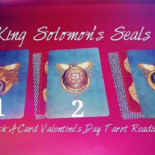 King Solomon's Seals (Valentines Day Tarot)