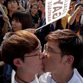 Taiwán legaliza el matrimonio homosexual, un hito en toda Asia