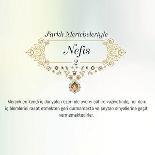 Farklı Mertebeleriyle Nefis (2) / 2018 Haziran