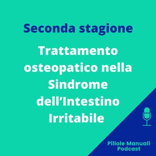 Trattamento osteopatico nella Sindrome dell'Intestino Irritabile