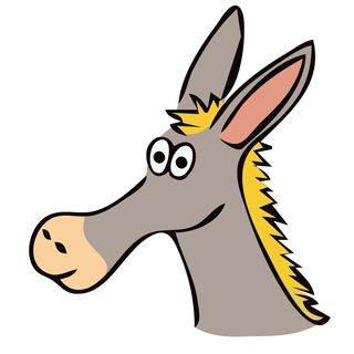 The Donkey Without a Brain?
