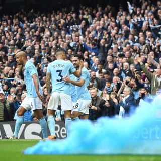 Man City celebrate Premier League title win but are already hungry for more