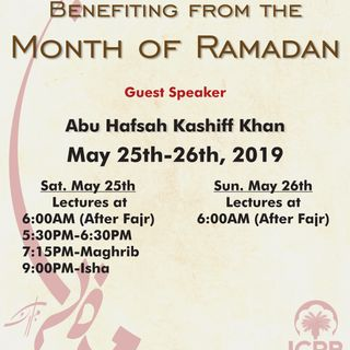 Benefiting from Ramadan 1440 (2019)