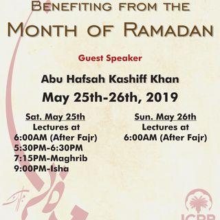 Benefiting from Ramadan 1440 (2019)