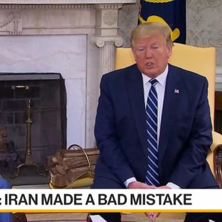 TRUMP BEING PROVOKED INTO A WAR WITH IRAN