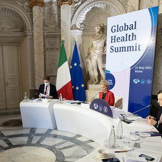 Global Health pre-Summit aperto da Draghi e von der Leyen