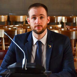 """Alessandro Carrara Consigliere del comune di Bergamo"""" La situazione e' veramente molto drammatica, ma reagiamo come possiamo"""", """""""