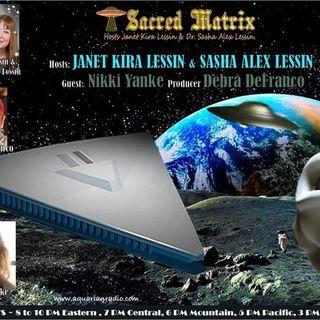 Nikki Yanke ~ 10/25/20 ~ Sacred Matrix ~ Revolution Radio, Studio B ~ Hosts Jane