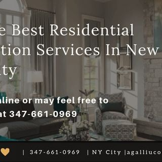 Best Residential Renovation Services In New York City