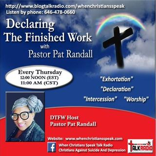 "Pt 5 ""God In A Box"" REPLAY- Declaring The Finished Work with Pastor Pat Randall"