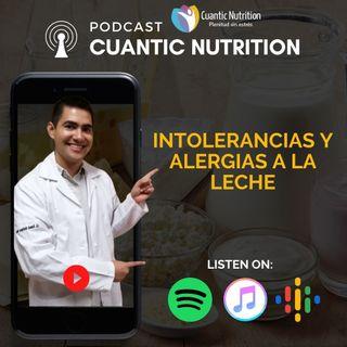 Alergia e intolerancia a la lactosa