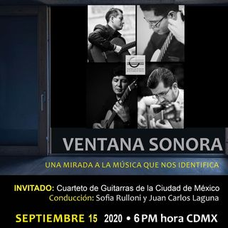 FESTIVAL DE MUSICA MEXICANA Cuarteto de Guitarras de la CDMX