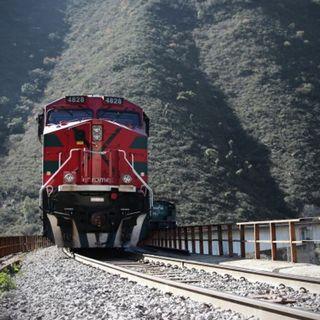 Rechaza AMLO que busque controlar sistema ferroviario