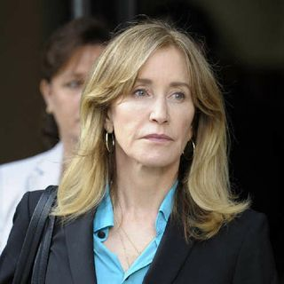 Actress Felicity Huffman Sentenced To 14 Days In Prison After Pleading Guilty In College Admissions Scandal.
