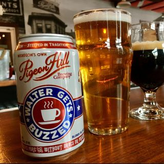 Beer of the Week: Pigeon Hill Brewery's Walter Gets Buzzed, plus details on the 3-year anniversary party