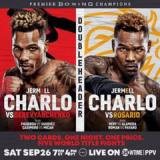 Preview Of The Showtime Boxing PPV Card Headlined By Jermall Charlo-Sergiy Derevyanchenko For The WBC Middleweight Title And Stacked Card
