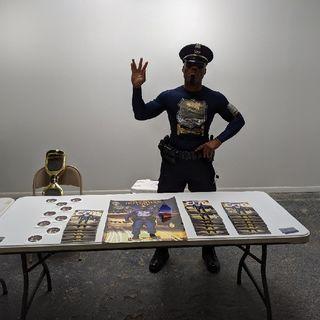 Comic Indie Con 2019 - Hoverman Cop