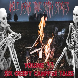 Volume 33   Six Creepy Campfire Tales   Stories Told in the Dark