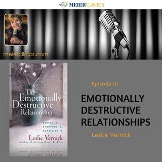 The Emotionally Destructive Relationship with Leslie Vernick