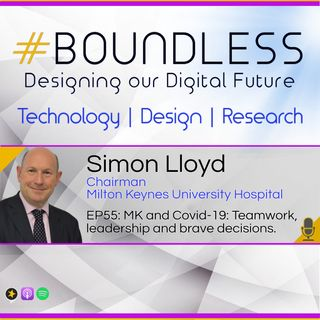 EP55: Simon Lloyd, Chairman, Milton Keynes University Hospital: MK & Covid-19; Teamwork, leadership & brave decisions