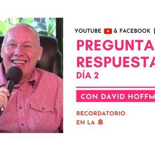 Preguntas y respuestas en VIVO con David Hoffmeister - Día 2 - Un curso de milagros