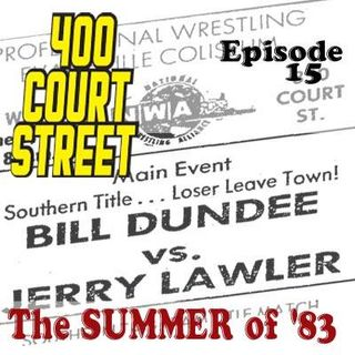 "400 Court Street -  ""Loser Leaves Town"" match between Bill Dundee and Jerry Lawler resulted in a number of Evansville regulars to vanish"