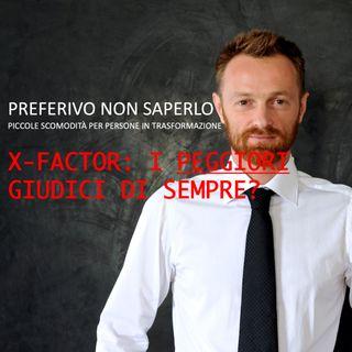 31 - X-factor, i peggiori giudici di sempre