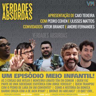 S03E09 - Com Vitor Brandt, Ulisses Mattos e Andrei Fernandes