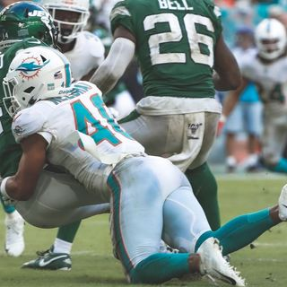 The Finfans Podcast: Dolphins Ground The Stinkin' Jets