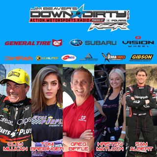 #340 Greg Biffle, Clay Millican, Kristen Matlock, Toni Breidinger, & Sam Albert On Air!