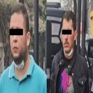 Dos presuntos integrantes del Cártel del Pacífico, fueron detenidos en la avenida Presidente Mazaryk, colonia Polanco