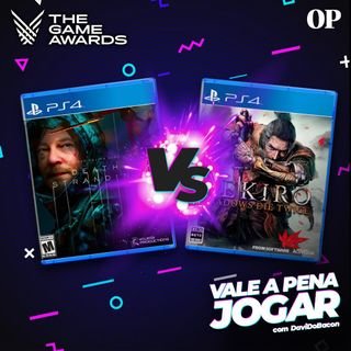 #07 - Vale a pena jogar SEKIRO ou DEATH STRANDING? (Especial The Game Awards 2019) 3/3