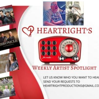 HeartRight Weekly Artist Spotlight Show