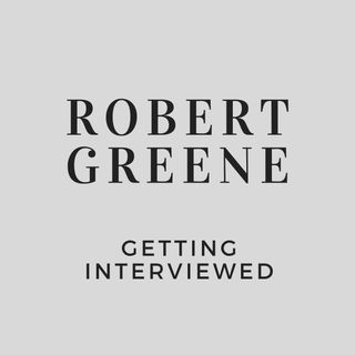 Robert Greene Mentoring You