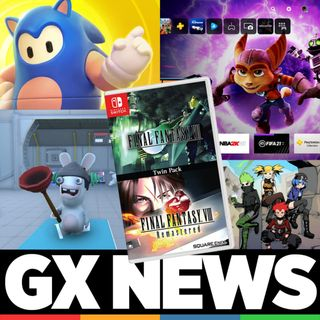 GX NEWS 006 - Interfaz de PS5, Sonic en Fall Guys, Novedades Final Fantasy Nintendo Switch, Rabbids Coding, Fahrenheit