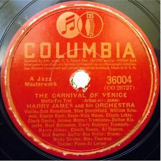 Harry James & His Orchestra ‎– Flight Of the Bumble Bee  The Carnival of Venice