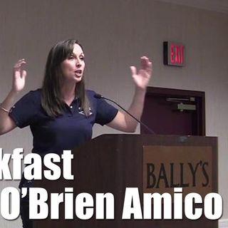 Episode 187 - Leah OBrien Amico - FCA Breakfast