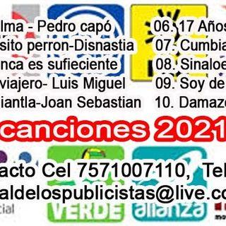 CANCIONES POLITICAS DEMO2021