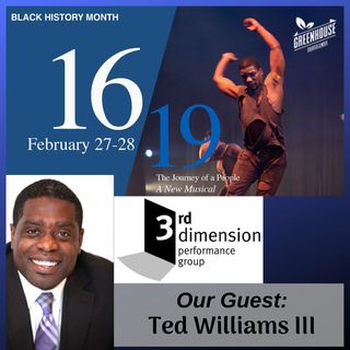 Black History Month and Ted Williams 1619 The Journey of a People